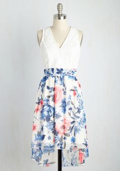 Romance Mastery Dress. You know how to dress so that your heart is full and your smile is unstoppable, and this floral frock is Exhibit A! #multi #modcloth
