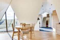 Pyramid Cottage House Reflects the Icelandic Landscape - http://freshome.com/pyramid-cottage-house/