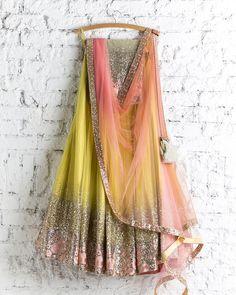 Lehenga Choli: Best Indian Lengha and Ghagra Choli Online Indian Lehenga, Half Saree Lehenga, Lehnga Dress, Red Lehenga, Yellow Lehenga, Bollywood Lehenga, Sabyasachi, Lehenga Designs, Half Saree Designs