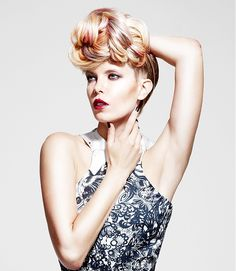 Secret Style l Updo l Balmain Hair Ambassador's Shot