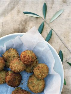A simple sprig of olive for a sense of the med. Food | Con Poulos