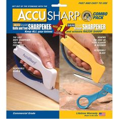 Accusharp 012C Combo Pack Knife Sharpener ** See this great product.