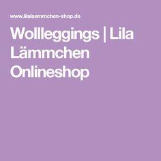 Wollleggings | Lila Lämmchen Onlineshop