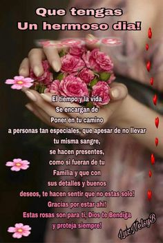 HERMOSO DÍA Morning Wishes Quotes, Good Morning Messages, Good Morning Greetings, Good Day Quotes, Good Morning Quotes, Quote Of The Day, Good Morning Prayer, Morning Prayers, Good Morning In Spanish