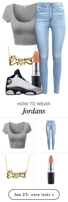"""~If you wanna burger  Eata Burger!"" by destiny-xcx on Polyvore featuring MAC Cosmetics, H&M, Retrò, women's clothing, women's fashion, women, female, woman, misses and juniors"