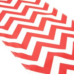 Chevron Table Runner - Coral