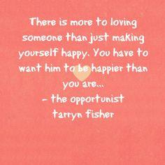 The Opportunist (tarryn fisher)