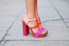 yes to bright shoes