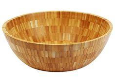 Ybm Home & Kitchen Bamboo Snack, Fruit, Salad Bowl 357 (11.5)