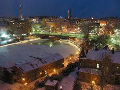 tampere Cities In Finland, Finland Travel, Big Town, Best Cities, Norway, Places Ive Been, Home And Family, Mansions, House Styles