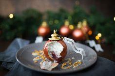Weihnachtskugel Dessert mit Mousse / Christmas Ball Chocolate Dessert