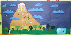 ....5ο Νηπιαγωγείο Σερρών: Μυθολογία Flag, Art, Art Background, Kunst, Science, Gcse Art