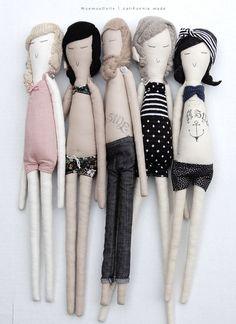 Moemoe Custom Art Doll by moerdesigns on Etsy