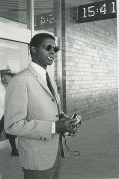 Jimmy Garrison, bassist of the John Coltrane Quartet