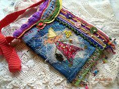 Авторская сумочка `Грёзы Снусмумрика`.