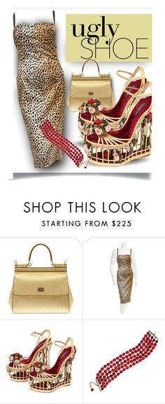 """Ugly Shoe - Dolce"" by fernshadowstudio-com ❤ liked on Polyvore featuring Dolce&Gabbana and Chanel"