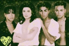 Michael and his nephews 3T