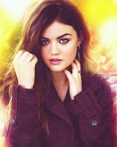 Lucy Hale hair and makeup