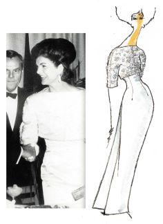 Oleg Cassini - 1000 Days of Magic Estilo Jackie Kennedy, Os Kennedy, Jacqueline Kennedy Onassis, Lou Fashion, Royal Fashion, Vintage Outfits, Vintage Fashion, Glamour, International Fashion
