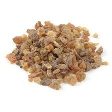Myrrh - A gum resin produced from a bush found in Arabia and Eastern Africa.