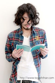 【togashihair】カジュアルロングウェーブ http://www.togashihair.com/?p=4444 《#メンズヘアスタイル#メンズカット#menshairstyle#パーマ#ロング》