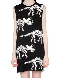 Dinosaur Tank Dress - Cute Summer Dresses -$62