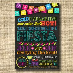 FIESTA Engagement Party BRIDAL Shower Surprise by creativelime
