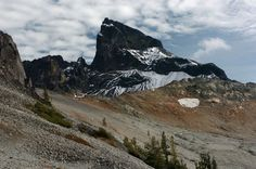 Black Tusk: This extinct volcano is one of the most identifiable features of Garibaldi Provincial Park.