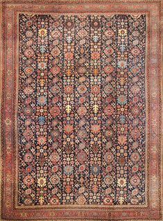 Hand-Knotted Bidjar Area Rug > Design# > Size: x Shop handmade area rugs from Carpet Culture, get the best rug deal. Carpet Decor, Diy Carpet, Modern Carpet, Rugs On Carpet, Carpet Ideas, Cheap Carpet, Persian Carpet, Persian Rug, Rug Placement