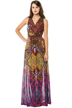 ShopSosie Style : Ancient Ruins Maxi Dress