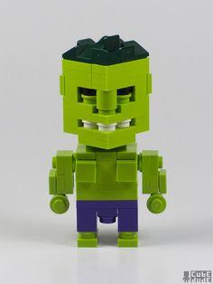 LEGO Incredible Hulk by MacLane, via Flickr