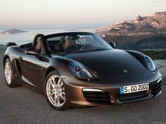 Boxster S in mahogany brown