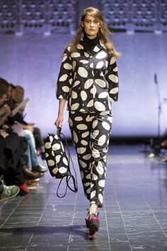 #Marimekko´s A/W 2014 fashion show at Helsinki Central Railway Station