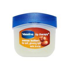 Vaseline Lip Therapy in Cocoa Butter Vaseline Beauty Tips, Beauty Tips For Skin, Healthy Beauty, Natural Beauty, Beauty Hacks, Skin Care Regimen, Skin Care Tips, Vaseline Lip, Cucumber Beauty