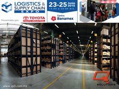 """¿Desea optimizar sus redes de distribución y superar los retos que ésta presenta? Q SOLUTIONS le invita a asistir los días 23, 24 y 25 de Junio del 2015 a la expo """"Logistics & Supply Chain"""" que se llevará a cabo en las instalaciones de Centro Banamex de las 13:00 a las 20:00 horas. Para mayor información le invitamos a entrar al siguiente link: http://logisticsandsupplychainexpo.com/front_content.php"""