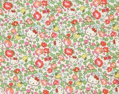 Liberty X Hello Kitty Limited Orchard Tana Lawn by VariFabric, $12.00