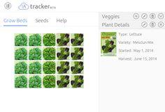 Aquaponics Tracker - Grow Bed tracking