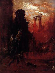 Gustave Moreau, Moses, c. 1893, Oil on canvas, 173 x 128 cm, Musée National Gustave-Moreau, Paris