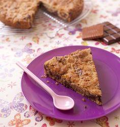 Photo de la recette : Cookie géant aux pépites de chocolat