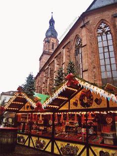 Weihnachtsmarkt Heidelberg, Germany