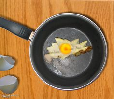 How do you like your eggs? by Worth 1000 user Photoshop Design, Photomontage, Like You, Opera House, Sydney, Eggs, Food, Eten, Egg
