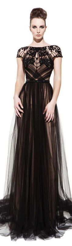 PAVONI Collection - Fall/Winter 2012 #long #dress ♥