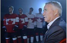 Hockey Canada shows off jerseys for Sochi Olympics