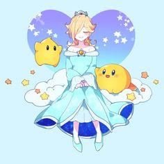 rosalina and shulk Super Mario Princess, Nintendo Princess, Mario Fan Art, Super Mario Art, Super Mario Brothers, Nintendo Characters, Video Game Characters, Mario And Luigi, Mario Bros