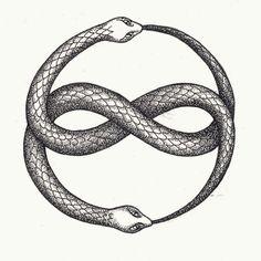 Tattoo... La historia interminable #ouroboros #uroboros #snake #tattoo #tattoodesign #snaketattoo #ouroborostattoo #helenacisne #artwork