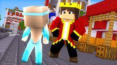 Minecraft: A PROTEGIDA #04 - CONHECI O REI?!