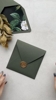 Invitation set with wax seal stamp / acrylic invitation / sample #invitation