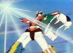 Old school Voltron that began in the 80's and was re aired when I was a kid in the 90's