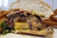 Whitmans has a super legit Juicy Lucy (Minnesota's state cheeseburger) made with a short-rib blend, caramelized onion, spicy pickles, and an ooze-happy stuffing of pimento cheese.