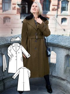 Coat Burda plus 11/15 124